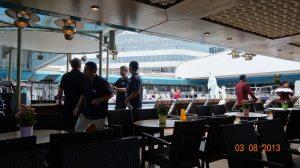 153 Alaskan cruise - pool deck