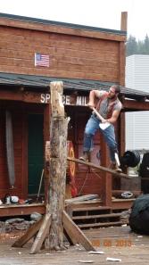 645 Lumberjack Show, Ketchikan, Alaska, USA