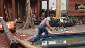 658 Lumberjack Show, Ketchikan, Alaska, USA